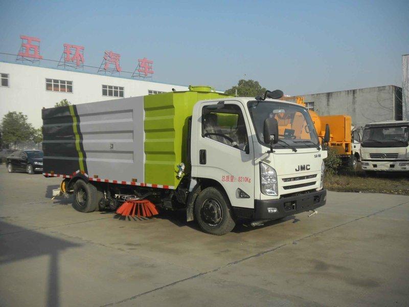 江鈴8方洗掃車
