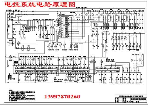 洗扫车电控系统电路原理图