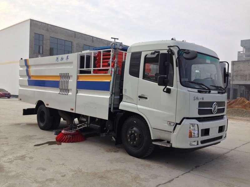 东风天锦大型道路洗扫车