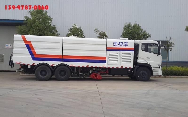 东风天龙大型道路洗扫车
