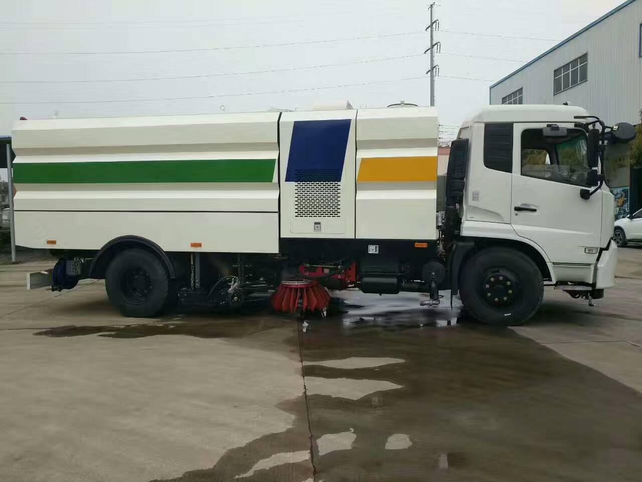 東風天錦16噸洗掃車