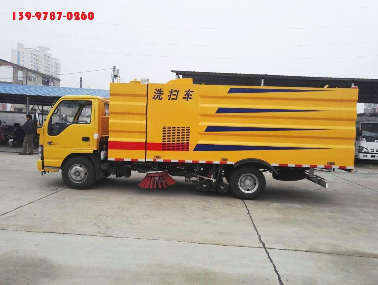 上海市政洗掃車價錢