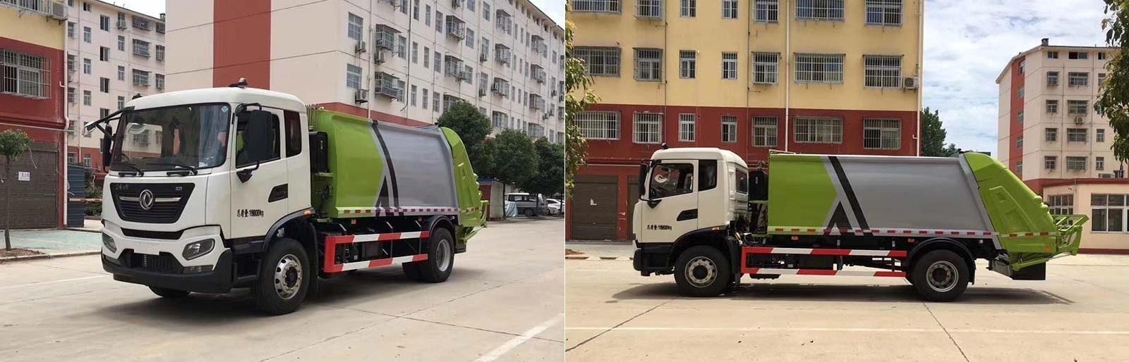 國六12方東風天錦壓縮式垃圾車