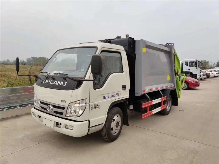 福田壓縮式垃圾車