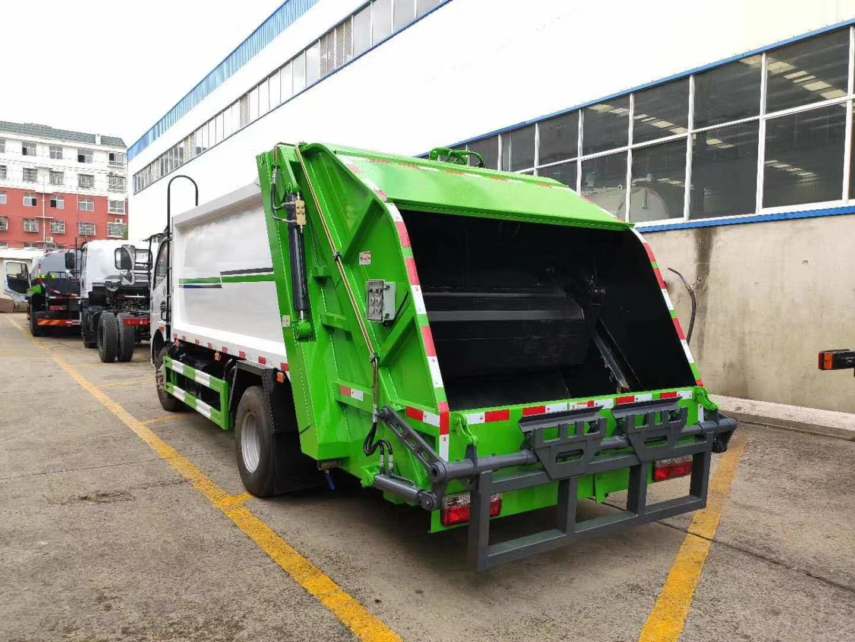 可上北京牌照的压缩垃圾车