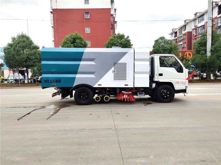 国六江铃5.5方扫路车