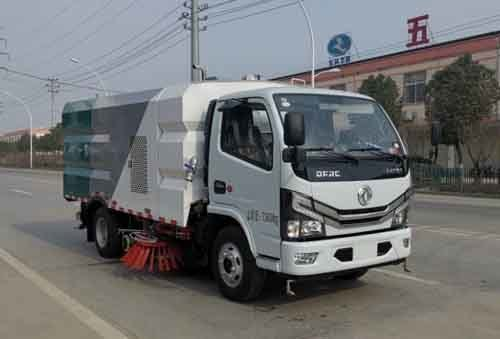 华通牌HCQ5075TXSEQ6型洗扫车