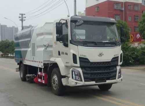 华通牌HCQ5186TXSLZ6型洗扫车