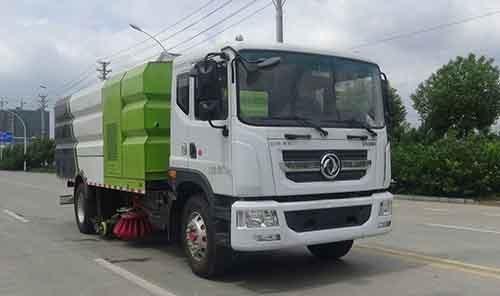 华通牌HCQ5180TXSEQ6型洗扫车