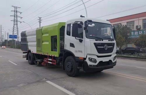 华通牌HCQ5182TXSDF6型洗扫车