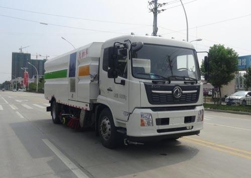 华通牌HCQ5180TXSDF6型洗扫车