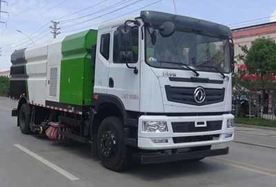 华通牌HCQ5180TXSEQNG6型洗扫车
