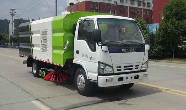 华通牌HCQ5070TXSQL6型洗扫车