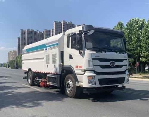 华通牌HCQ5180TXSBYDBEV型纯电动洗扫车