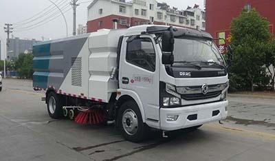 华通牌HCQ5125TXSEQ6型洗扫车