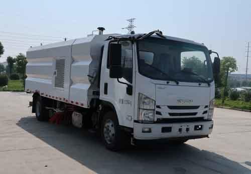 华通牌HCQ5110TXSQL6型洗扫车