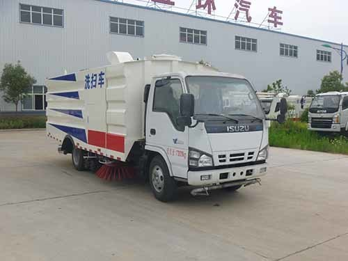 华通牌HCQ5073TXSQL型洗扫车