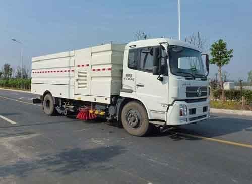 华通牌HCQ5160TXSBX5型洗扫车