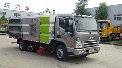 华通牌HCQ5110TXSSH5型洗扫车