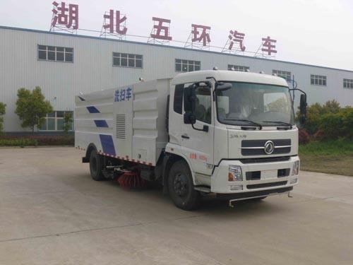 华通牌HCQ5166TXSNG5型洗扫车