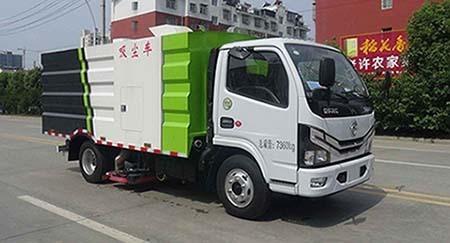 华通牌HCQ5070TXCEQ6型吸尘车