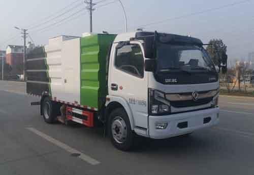 华通牌HCQ5125TXCEQ6型吸尘车