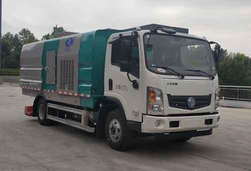 华通牌HCQ5080TXCEQBEV型纯电动吸尘车