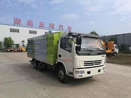 华通牌HCQ5080TXCE5型吸尘车