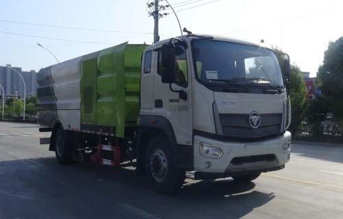 华通牌HCQ5184TXSBJ6型洗扫车