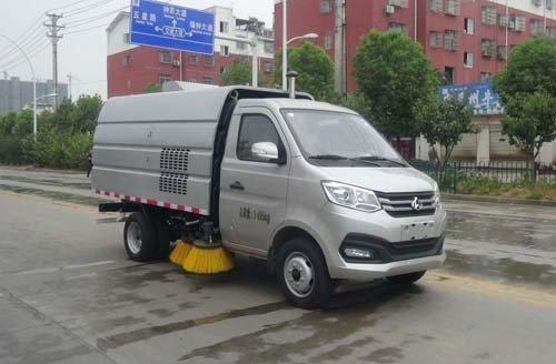 华通牌HCQ5031TSLSC6型扫路车