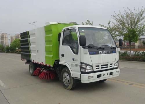 华通牌HCQ5070TSLQL6型扫路车