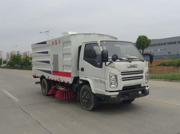 华通牌HCQ5071TSLJX6型扫路车