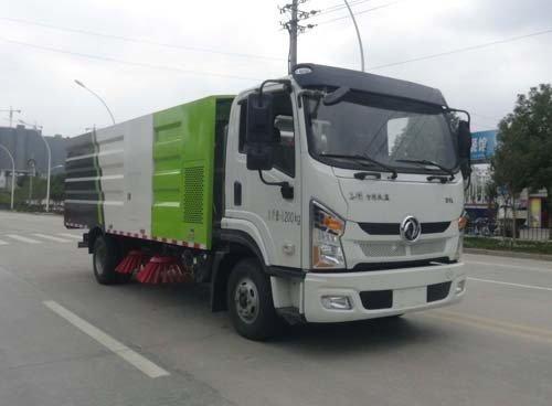华通牌HCQ5081TSLDF6型扫路车