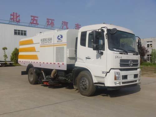 华通牌HCQ5164TSLE5型扫路车