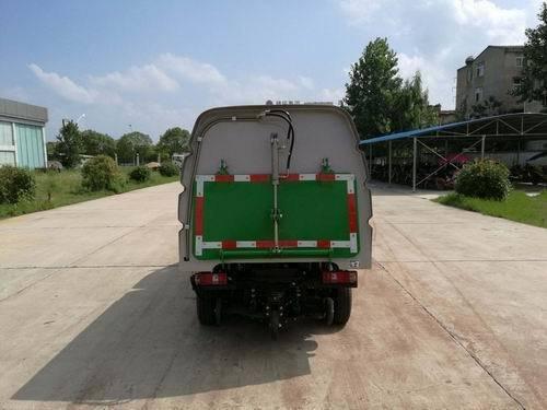华通牌HCQ5032TSLSC5型扫路车
