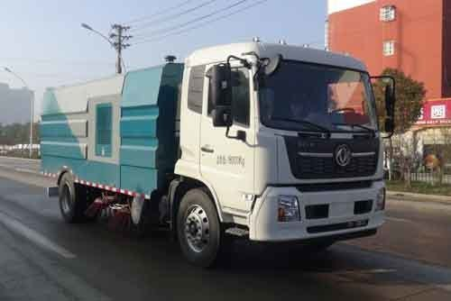 华通牌HCQ5180TSLDF6型扫路车