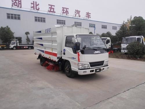 华通牌HCQ5061TSLJX5型扫路车