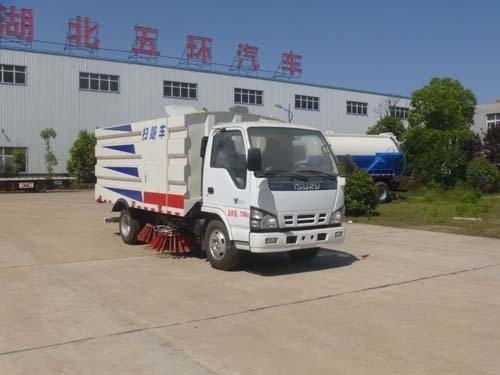 华通牌HCQ5070TSLQL5型扫路车