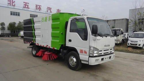 华通牌HCQ5072TSLQL5型扫路车