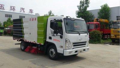 华通牌HCQ5073TSLCH5型扫路车
