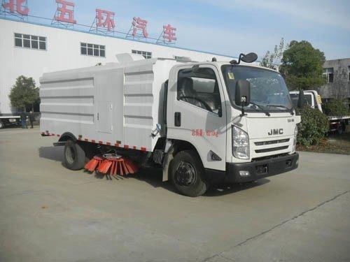 华通牌HCQ5083TSLJX5型扫路车