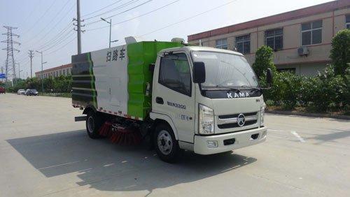 华通牌HCQ5086TSLKM5型扫路车
