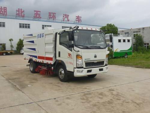 华通牌HCQ5073TSLZZ5型扫路车