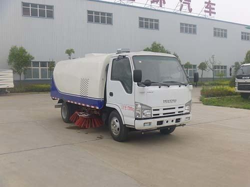 华通牌HCQ5075TSLQL型扫路车