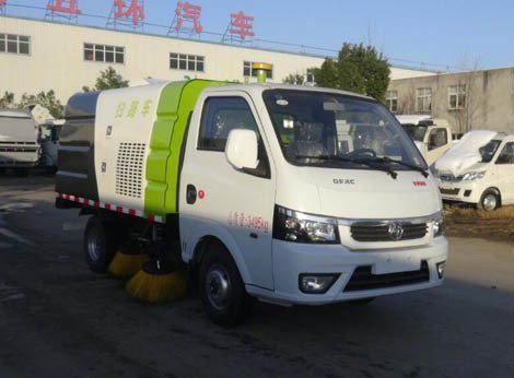 华通牌HCQ5036TSLQC型扫路车