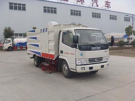 华通牌HCQ5040TSLDFA型扫路车