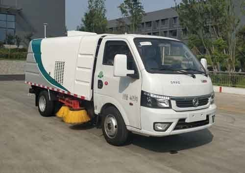 华通牌HCQ5040TSLEQBEV型纯电动扫路车