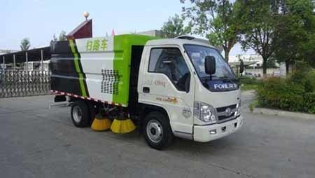 华通牌HCQ5042TSLBJ5型扫路车