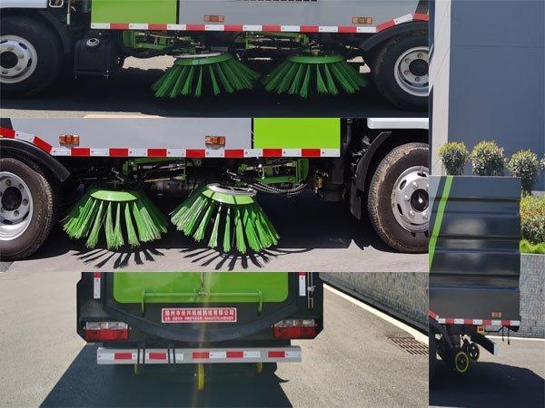 伴君长兴牌AAA5075TSLE6型扫路车