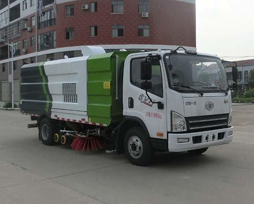 同锐通牌CAA5120TXSC6型洗扫车